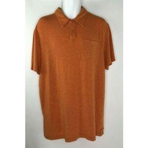 prAna Orange Rayon Soft Lightweight Casual Comfort